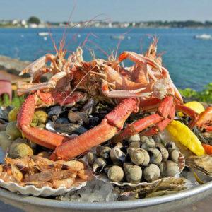 restaurant pointe saint mathieu fruits de mer